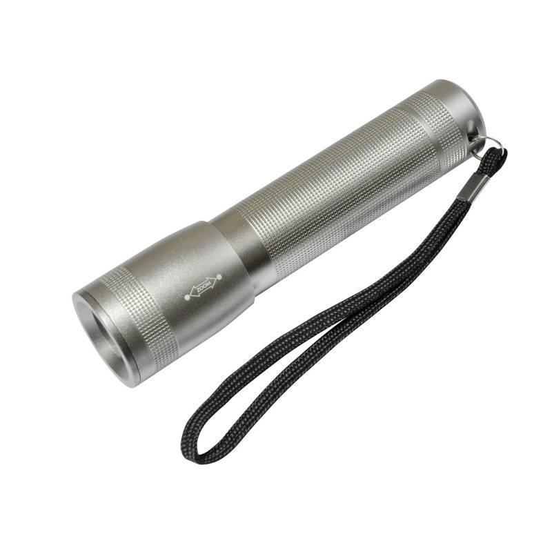 Ручной светодиодный фонарь Uniel (03252) от батареек 125х30 100 лм S-LD016-C Silver