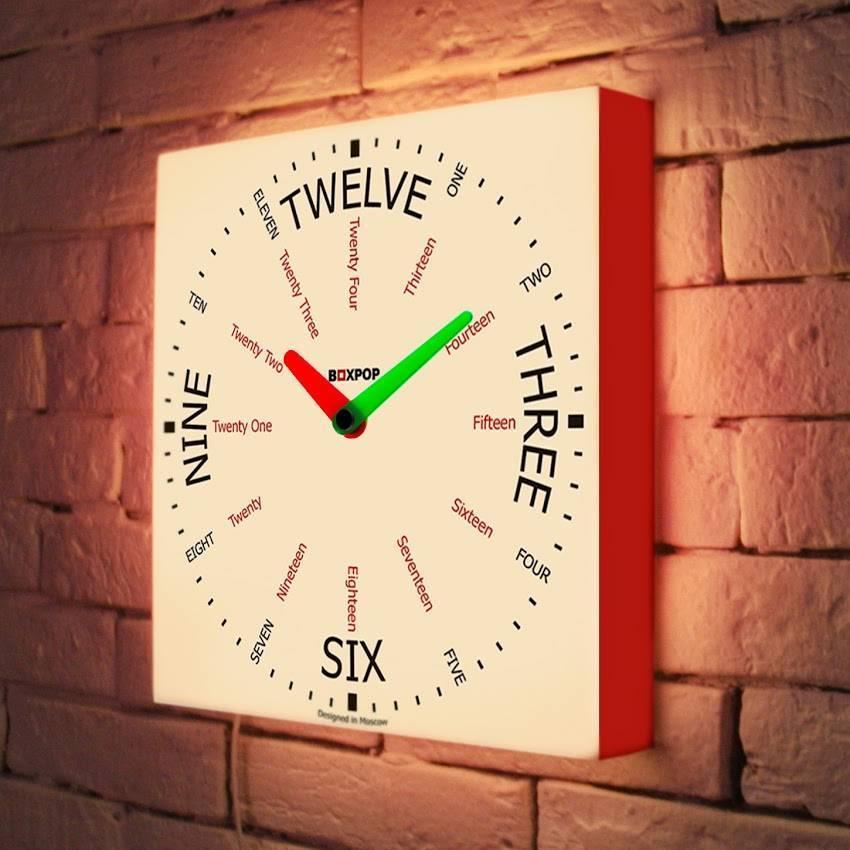 Световые часы BoxPop VI LB-506-35