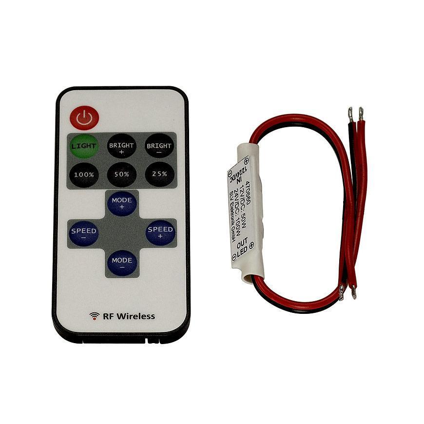 Контроллер для светодиодных лент SLV Easylim 1-канальный 12/24V 470660
