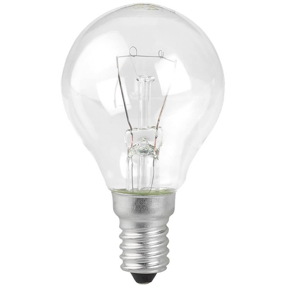 Лампа накаливания ЭРА E14 40W 2700K прозрачная ДШ 40-230-Е14 (гофра) Б0039132