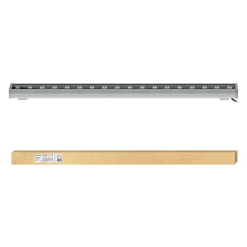 Прожектор светодиодный Volpe 18W 2700K ULF-Q552 18W/WW IP65 Silver UL-00001434