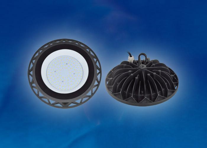 Подвесной светодиодный светильник (UL-00002320) Uniel ULY-U40C-100W/DW IP65 Black