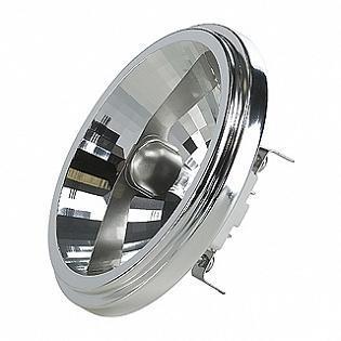 Лампа галогенная G53 50W 2700K полусфера прозрачная 543545