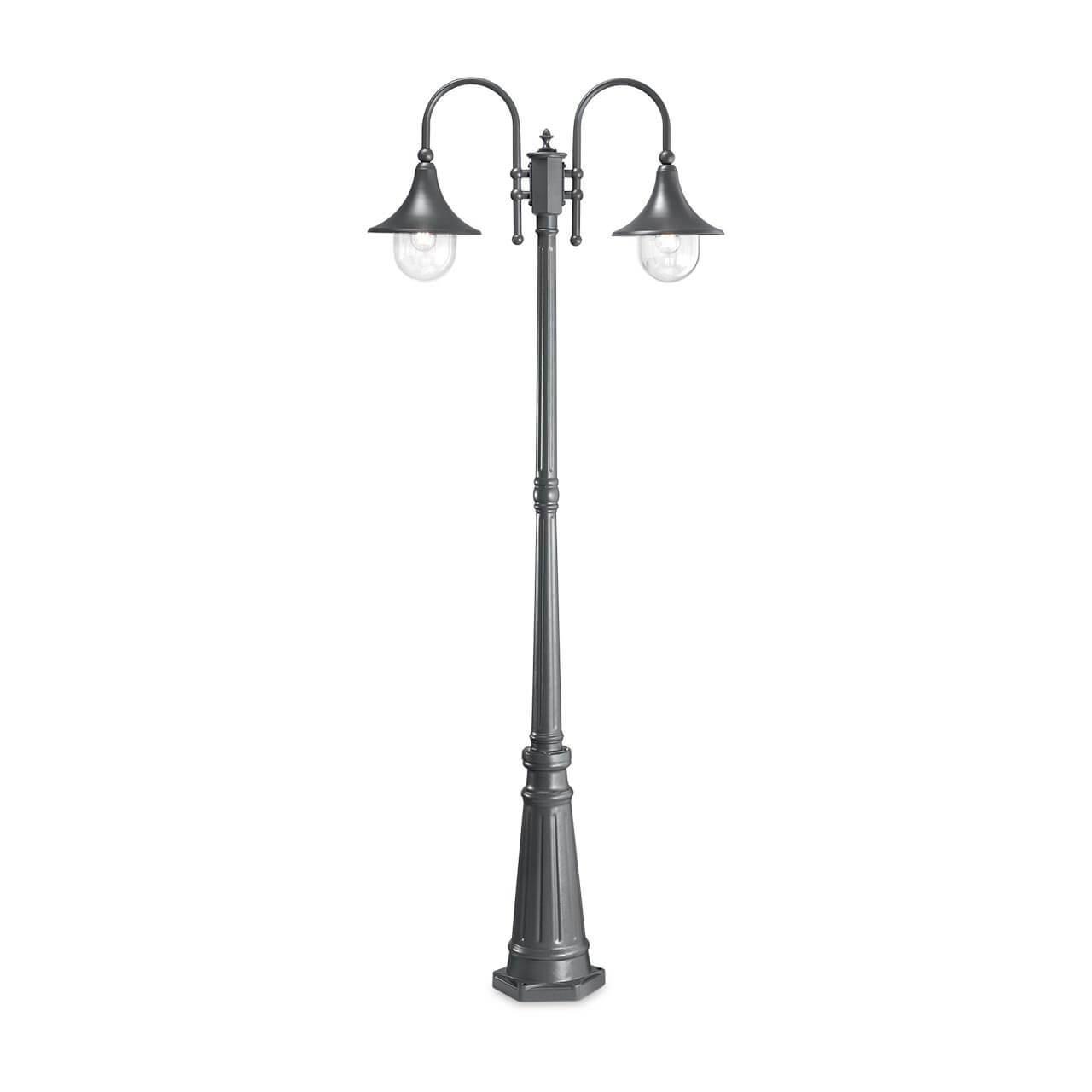 Садово-парковый светильник Ideal Lux Cima PT2 Antracite 246833