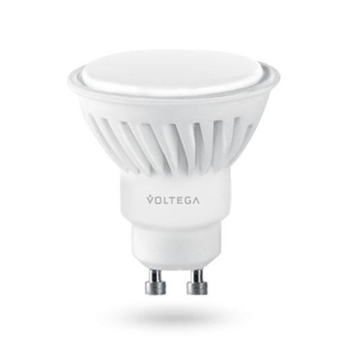 Лампа светодиодная GU10 7W 2800К полусфера матовая VG1-S2GU10warm7W-С 8333