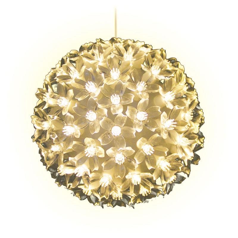 Подвесной светильник «Шар с цветами сакуры» d=15см (09570) ULD-H1515-100/DTA Warm White IP20