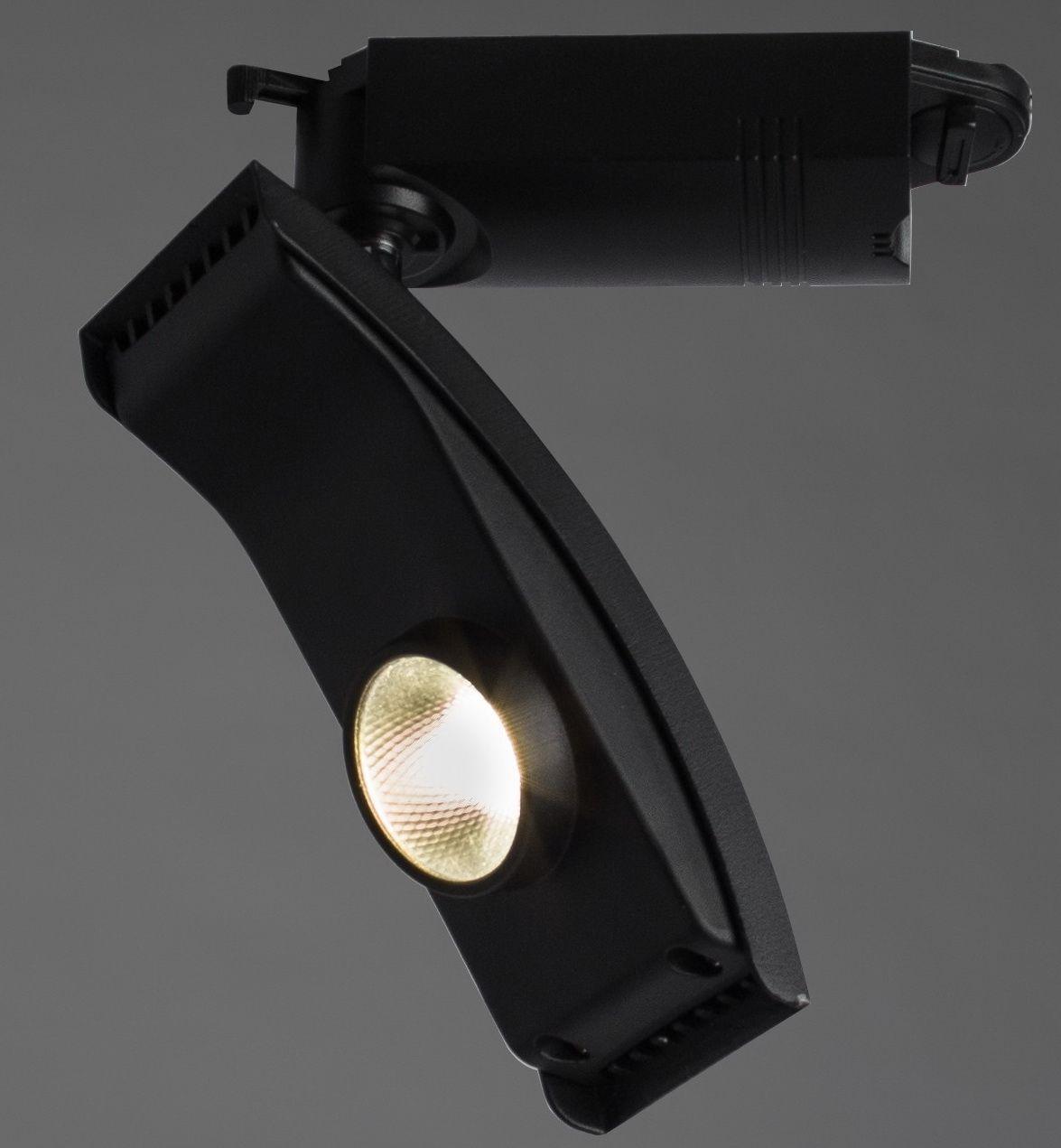 Трековый светодиодный светильник Arte Lamp Astuzia A2120PL-1BK