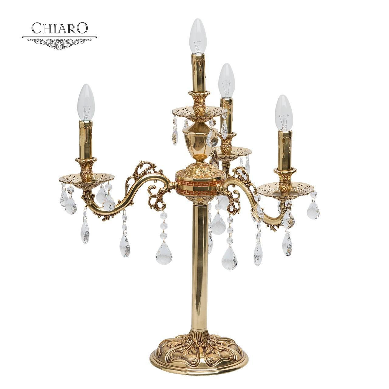 Настольная лампа Chiaro Паула 6 411033004