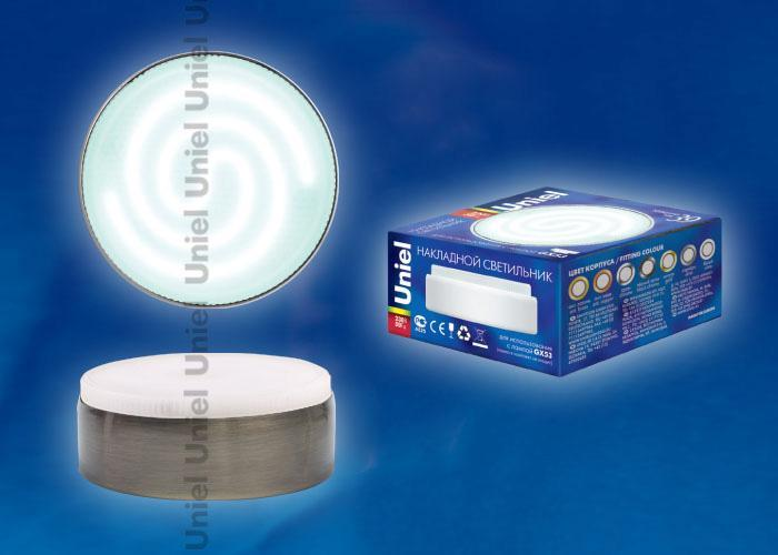 Накладной светильник (02713) Uniel GX53/FT ANTIQUE BRASS