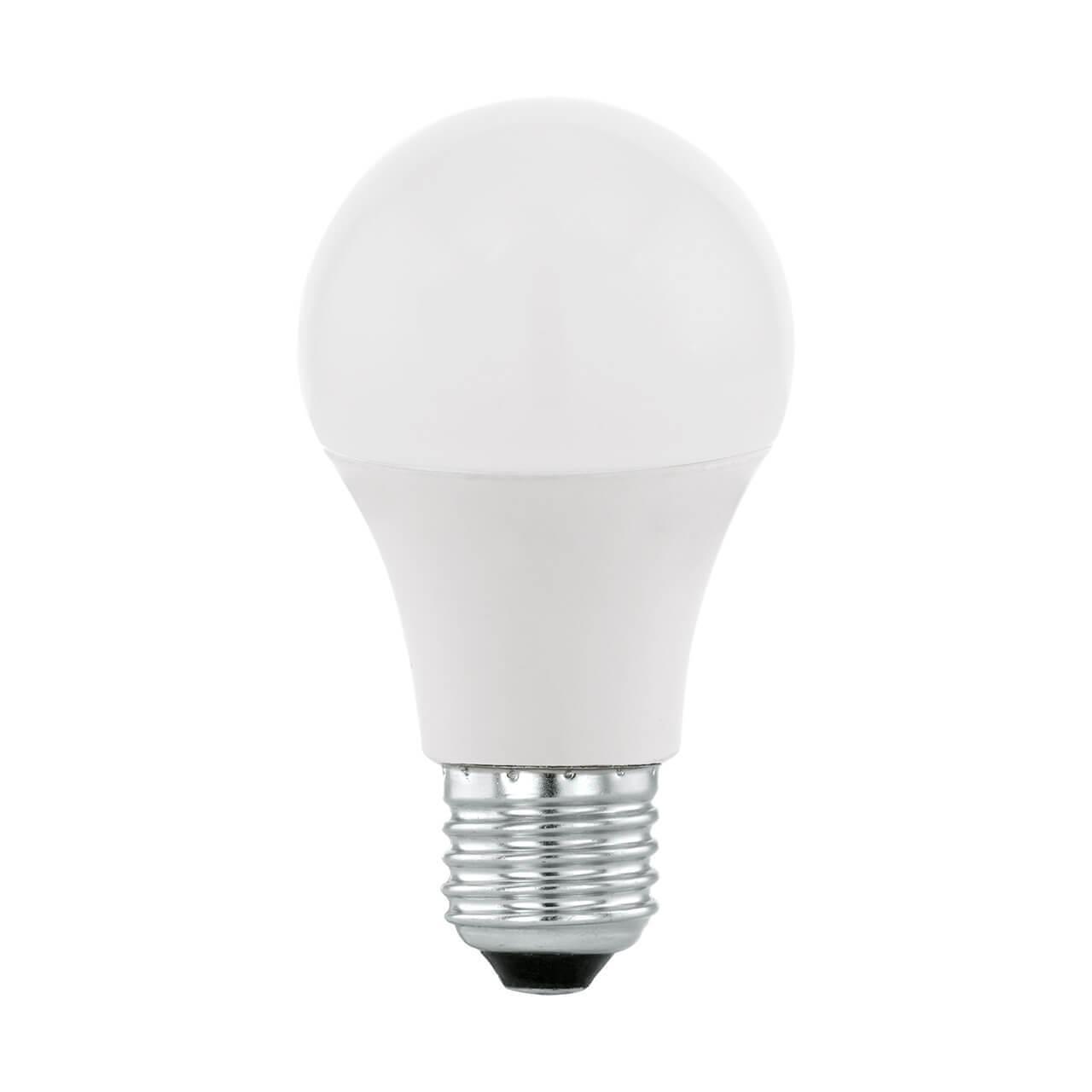 Лампа светодиодная Eglo E27 9W 2700-6500K матовая 11586