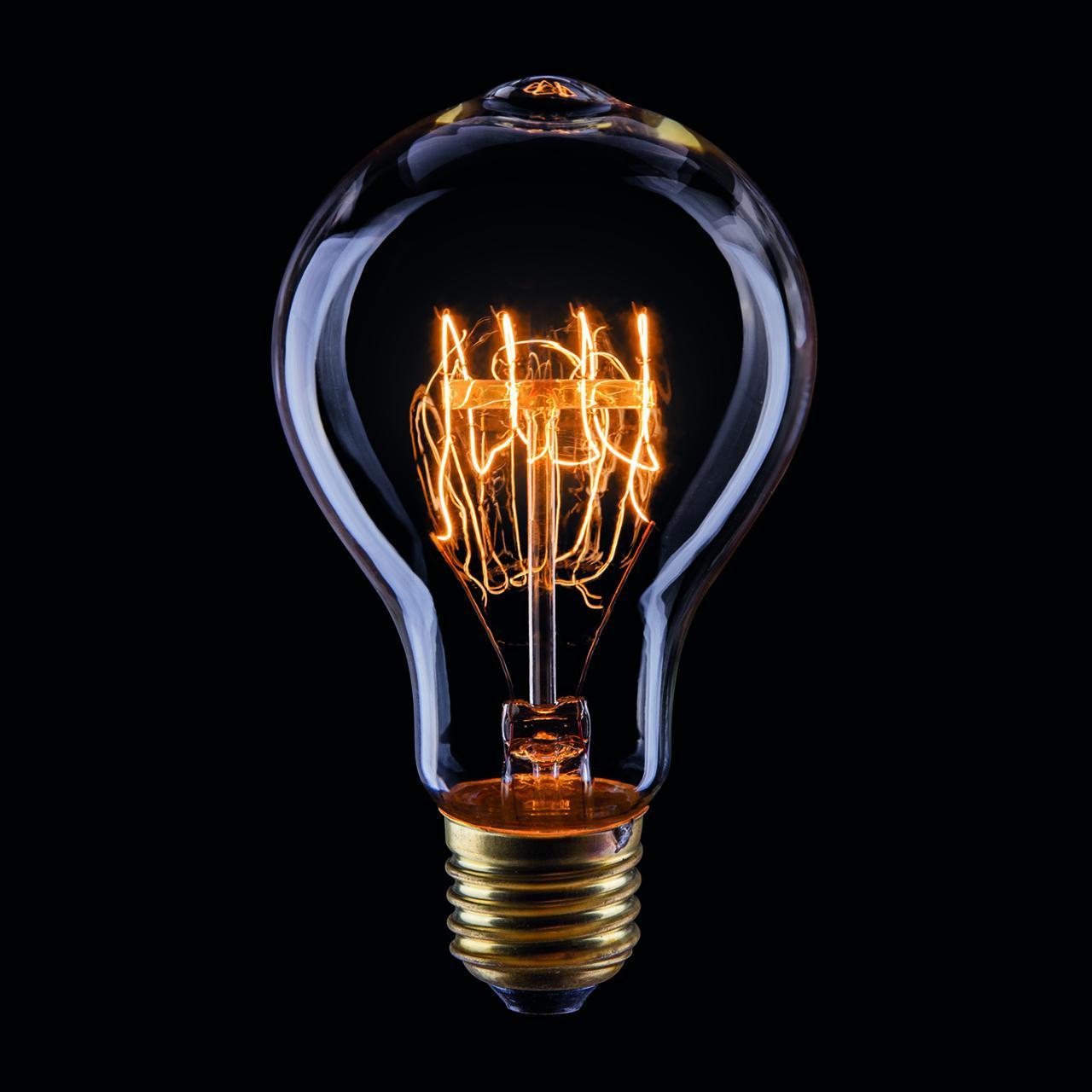 Лампа накаливания E27 60W прозрачная VG6-A75A3-60W 5931