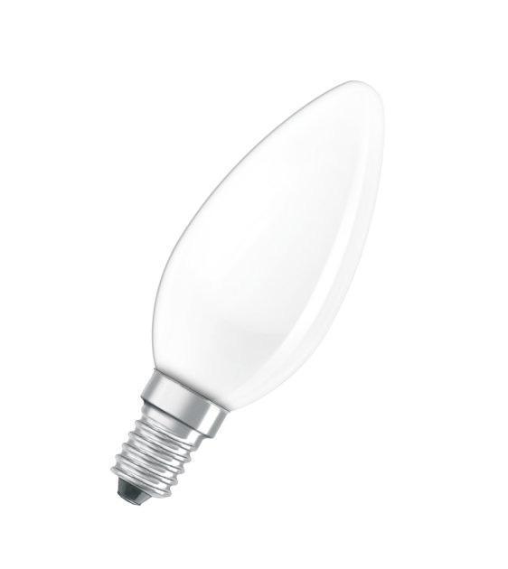 Лампа накаливания E14 40W 2700K матовая 4008321410870