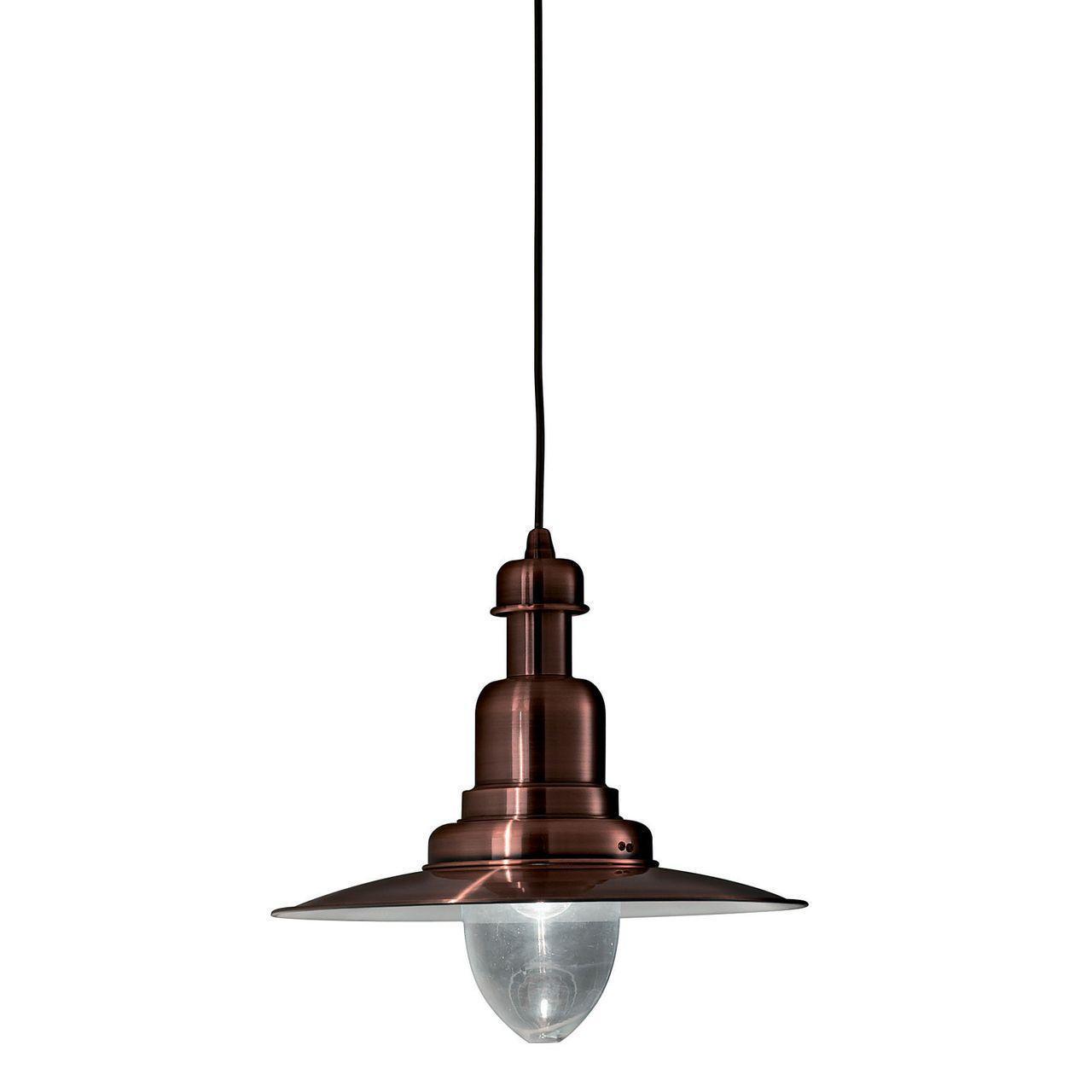 Подвесной светильник Ideal Lux Fiordi SP1 Rame