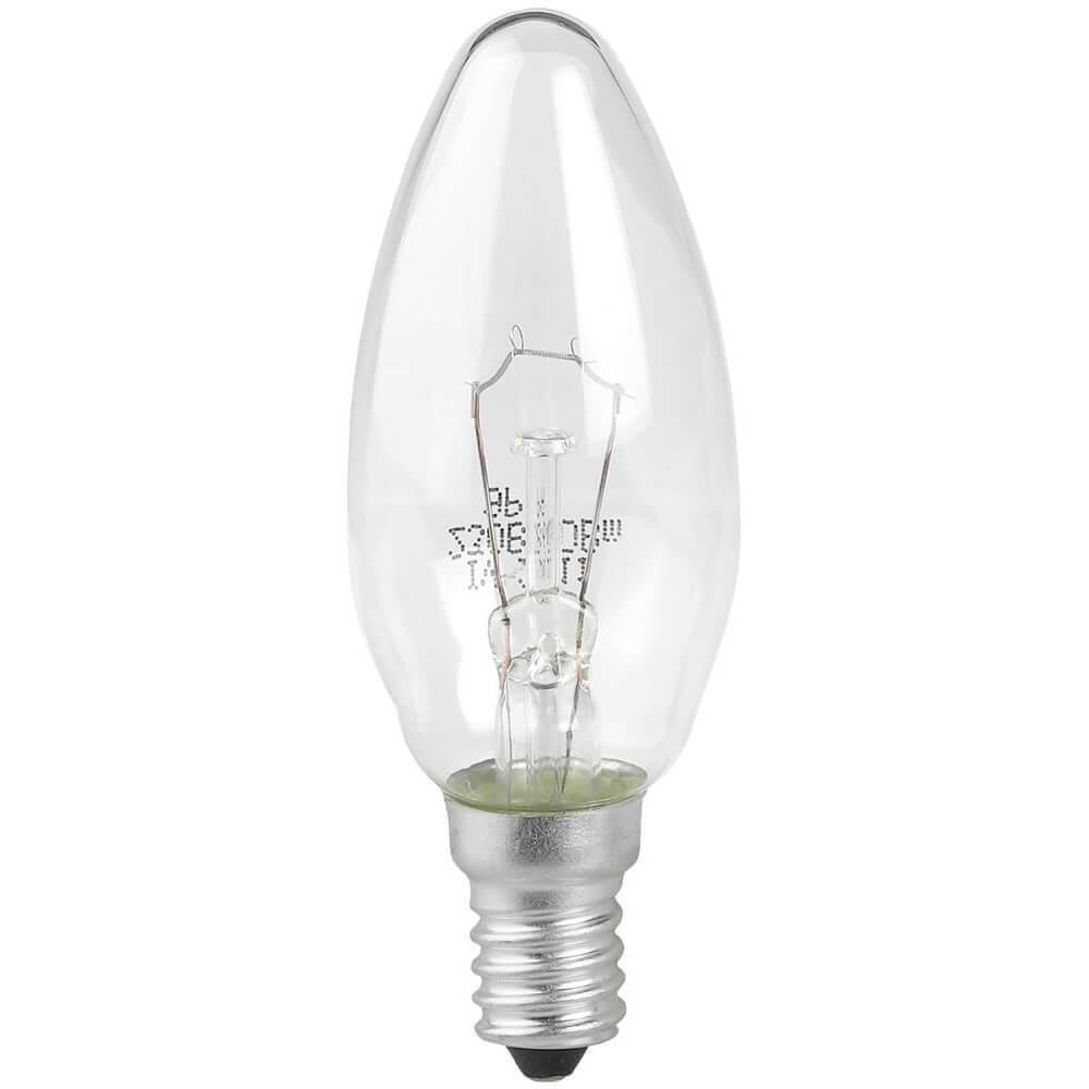 Лампа накаливания ЭРА E14 60W 2700K прозрачная ДС 60-230-Е14 (гофра) Б0039126