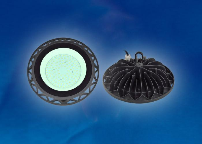 Подвесной светодиодный светильник (UL-00002321) Uniel ULY-U40C-100W/NW IP65 Black