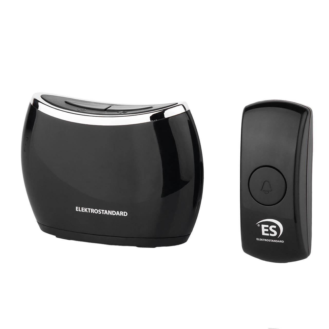 Звонок беспроводной Elektrostandard DBQ21M WL 32M IP44 черный 4690389144912