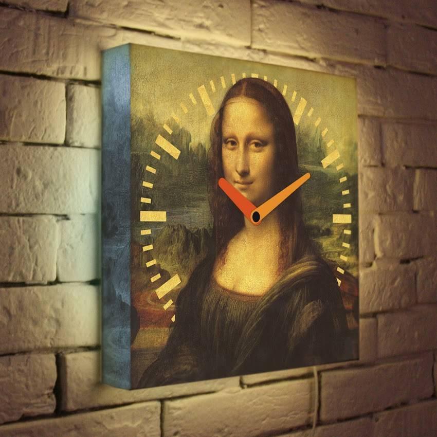 Световые часы Мона Лиза LB-017-35