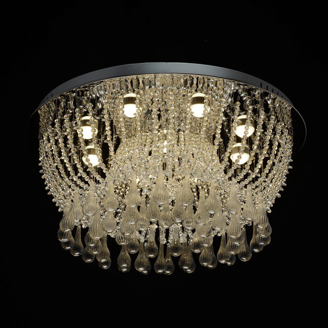 Потолочный светодиодный светильник MW-Light Бриз 464018309