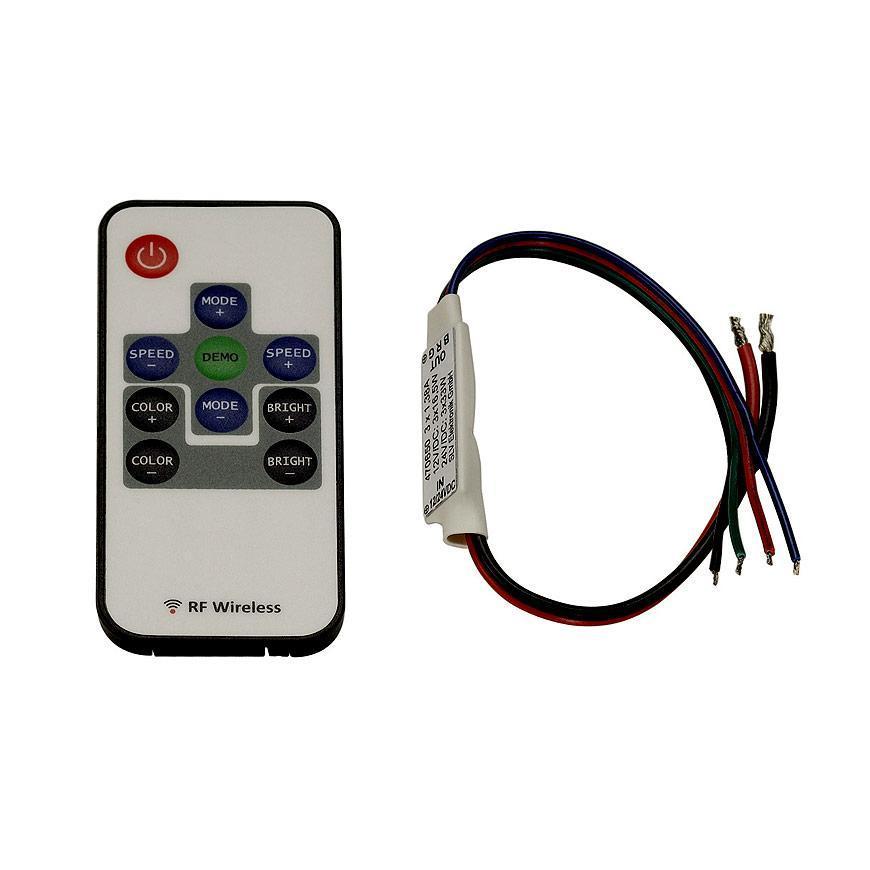 Контроллер для светодиодных лент SLV Easylim 3-канальный 12/24V 470650