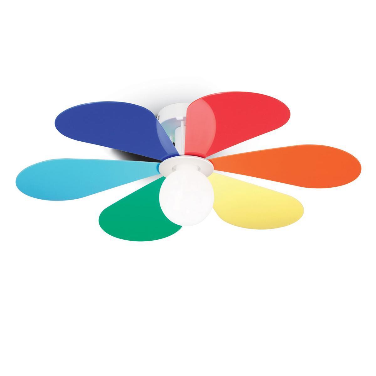 Потолочный светильник Ideal Lux Flower PL1 D60