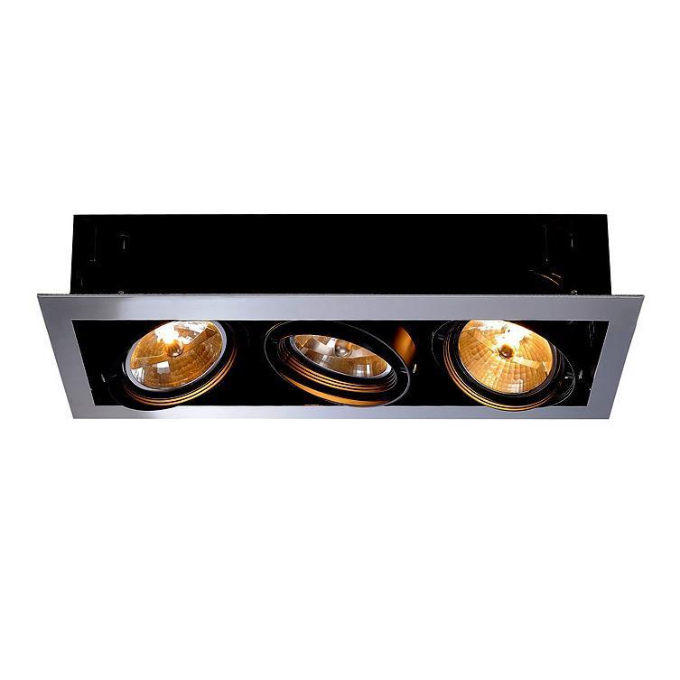 Встраиваемый светильник SLV Aixlight Flat Triple QRB111 154652