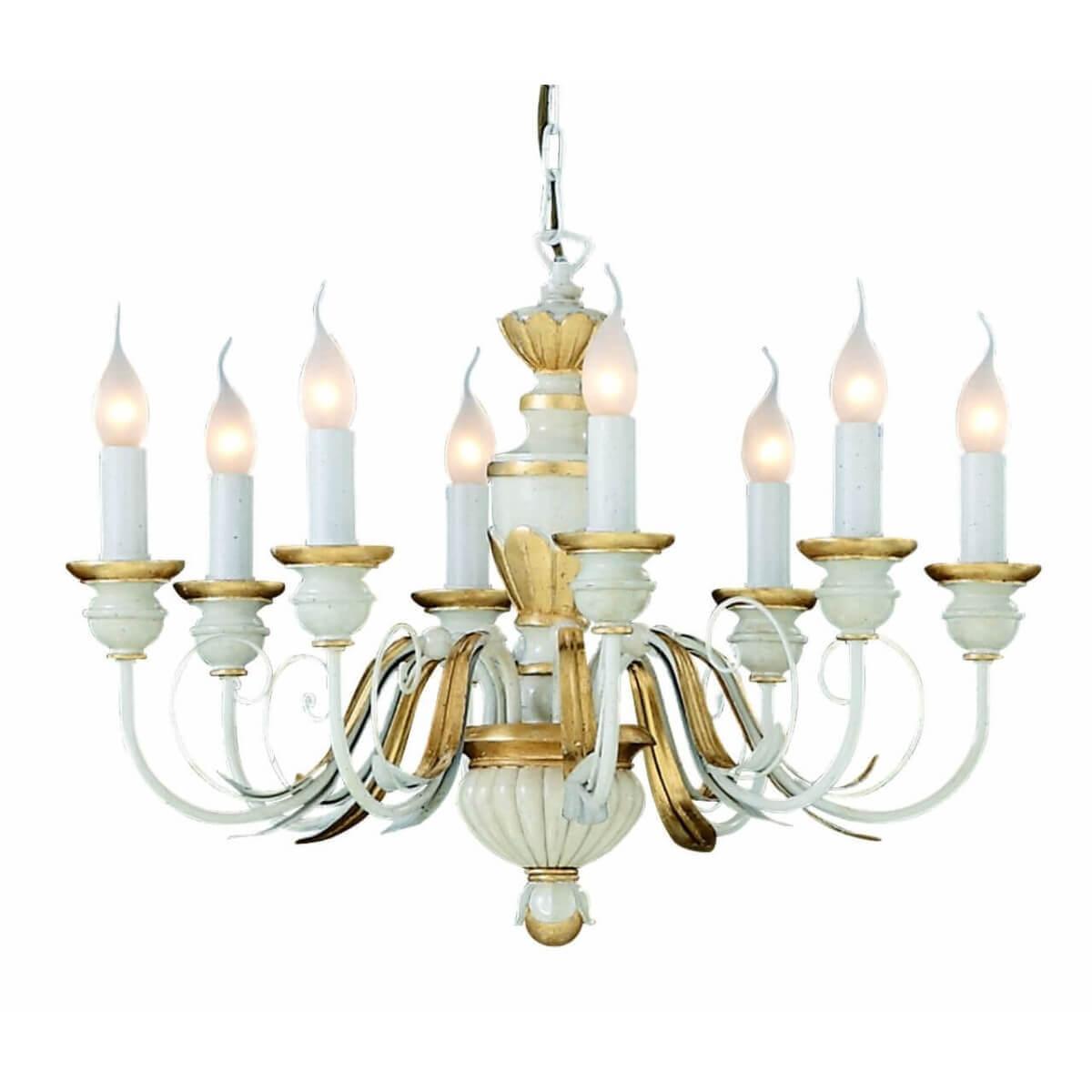 Подвесная люстра Ideal Lux Firenze Sp8 Bianco Antico 012872