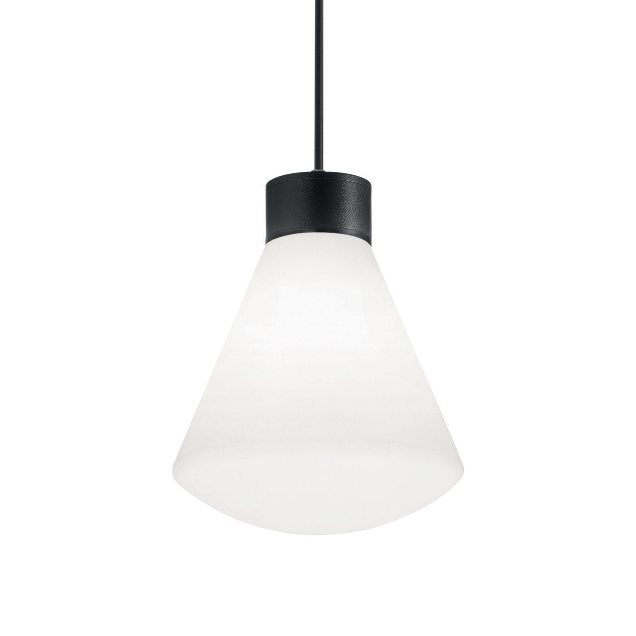 Уличный подвесной светильник Ideal Lux Ouverture SP1 Nero