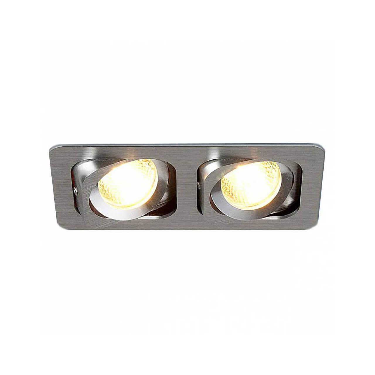 Встраиваемый светильник Elektrostandard 1021/2 MR16 CH хром 4690389055812