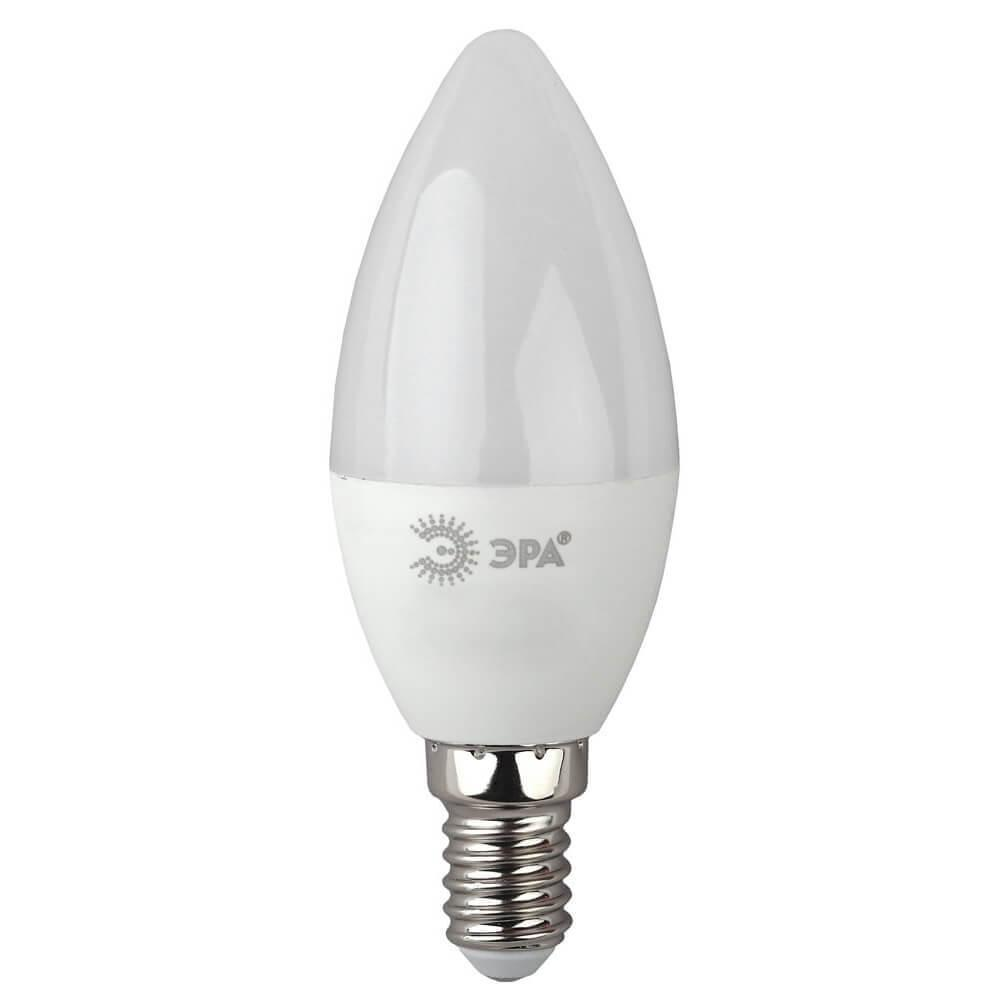 Лампа светодиодная ЭРА E14 10W 2700K матовая ECO LED B35-10W-827-E14 Б0032961